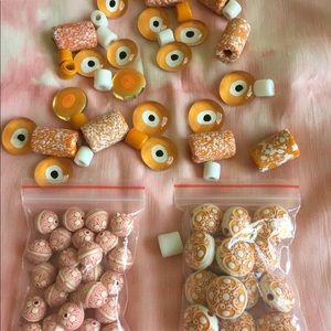 Jewelry making beads lot 💖💖❤️💖❤️